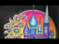 MAGICAL DAWN/MAGISK GRYNING by Hanna Karlzon - prismacolor pencils - part 2 - YouTube