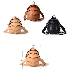Eye-catching yet functional, this spacious cocoon-shaped backpack is crafted from textured leather, can be worn two ways - with adjustable web backpack straps or single cross body handle  Top handle Adjustable shoulder or cross body straps – you can wear two ways and change any time Metal pin closure – we change it for more safety on all 2014 models One inside compartment – to keep you Ipad or tablet safe One inside slip pocket One inside zip pocket Quality hardware - to finish your perfect…