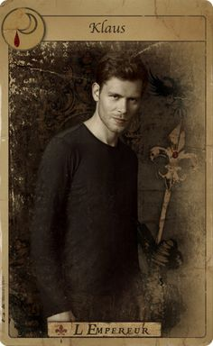 Promotional Tarot Card for Niklaus Mikaelson