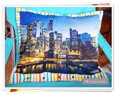 Kissenbezug Cushion Chicago jannymade