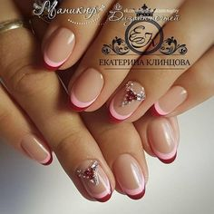 These are your favorite manicure ideas of the year! Trendy, chic and very feminine ideas! May Nails, Pink Nails, Flower Nail Designs, Nail Art Designs, French Nails, Cute Nails, Pretty Nails, Ingrown Nail, Nail Pen
