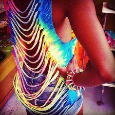 Slashed neon #StylingAtCoachella #StyleHaulYT