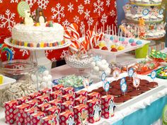 """""""Chillin' in a Winter Candyland...""""    Before the holiday frenzy,"""