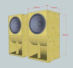 Speaker Wave Guide Design 02