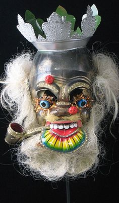 Bolivian Mask - Parade Moreno mask from La Paz, Bolivia