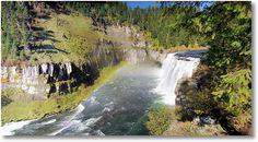 Henry's Fork of the Snake River, Idaho, Mesa Falls Recreation Area