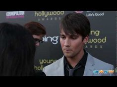 James Maslow Interview - 2012 Young Hollywood Awards