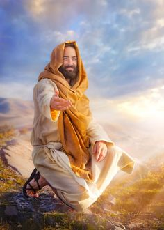 Lightweave: A Different Kind of Brush – Faith – jesus Pictures Of Jesus Christ, Images Of Christ, Religious Pictures, Jesus Tattoo, Jesus Artwork, Jesus E Maria, Bride Of Christ, In Christ Alone, God Prayer