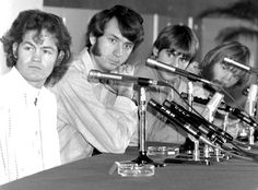 The Monkees in Japan during a press conference, October 1968, Monkees 1968 Far East Tour   The Monkees Live Almanac