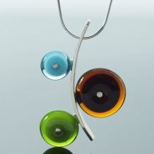 Necklaces | Kristin Perkins Glass Jewelry, LLC Glass Jewelry, Jewellery, Necklaces, Drop Earrings, How To Make, Jewels, Jewelry Shop, Schmuck, Chain