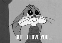 cute Black and White disney sad cartoon bugs bunny broken crying animation deep animated gif Walt Disney cry bunny sadness depressing heart broken bugs looney tunes tied up depressive gif b&w New Memes, Funny Memes, Image Tumblr, Crying Gif, Crying Tears, Sad Wallpaper, Frases Humor, Futurama, Looney Tunes