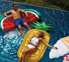 dreambuilderToy Giant Inflatable Pineapple Pool Party Float Raft Summer Outdoor Swimming Pool Inflatable Floatie Lounge Pool Loungers for Adults & Kids Watermelon Pool Float, Pineapple Pool Float, Backyard Trampoline, Backyard Toys, Giant Inflatable, Sunnylife, Pool Floats, Pool Toys, Cool Pools