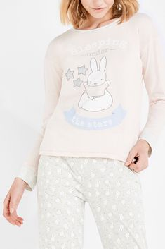 Womensecret Pyjama Miffy « Sleeping under the stars » rose