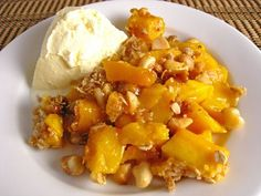 Julie Beus  A city girl that grew up on a farm and LOVES to cook and bake. It's simple and yummy, so come over and check it out! www.thefarmgirlrecipes.blogspot Mango Crisp with Macadamia Nut Crust