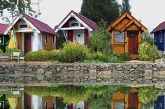 13 Real World Tiny House Communities: Four Lights Houses