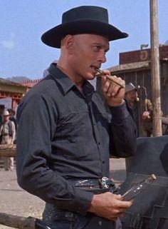 Yul Brynner, Famous Men, Movie Stars, Actors, Movies, Cowboys, Beauty, Films, Cinema