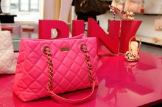 pink, fashion, brand, bag, chic