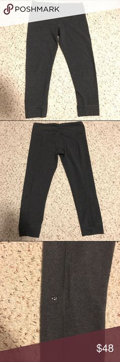 Lululemon wunder unders In great condition, cotton material has cute Ruched detailings on the waist band and legs lululemon athletica Pants Leggings