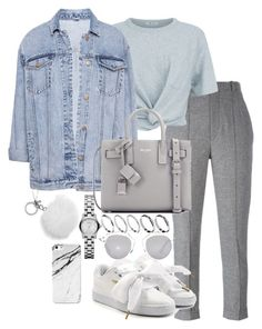 """Untitled #3337"" by theeuropeancloset ❤ liked on Polyvore featuring Isabel Marant, T By Alexander Wang, Pull&Bear, Puma, Yves Saint Laurent, ASOS, Christian Dior, Michael Kors and Case Scenario"