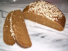 MOLASSES BREAD Used blackstrap molasses and no sugar for THIS recipe which was fine, but not great.