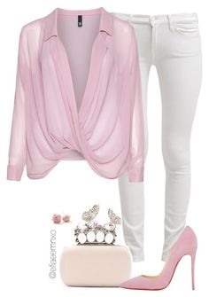"""""""Pink about it"""" by efiaeemnxo ❤ liked on Polyvore"""