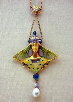 Art Nouveau necklace from Darmstadt - Landesmuseum
