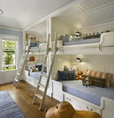 love the tray ceilings for a child's room.