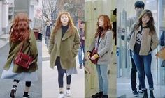 Hong Sul in Cheese in the trap Credit : adorer naver Cheese In The Trap, Kim Go Eun, Minimalist Chic, Fashion Outfits, Womens Fashion, Style Fashion, Korean Outfits, Korean Clothes, Simple Outfits