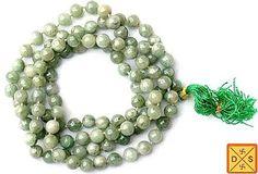 Tibetian jade mala for emotional balance and stability