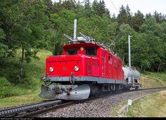 """""""Crocodile"""" HGe 4/4 # 15 of the Matterhorn-Gotthard Bahn, built in 1929 by SLM and MFO for the Visp-Zermatt-Bahn (VZ), is not really a artic..."""