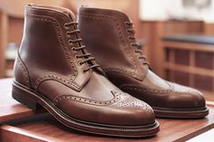 Carmina Brogue Boot Chromexcel