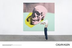 Andy Warhol, Skull, 1976 © The Andy Warhol Foundation / ARS. Photographed by Willy Wanderperre at The Andy Warhol Museum, Pittsburgh.