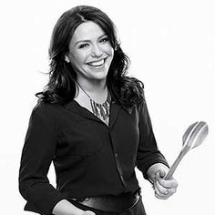 Rachel Ray...talks way too fast...and bounce around like a ping pong...she can burn like no other yo
