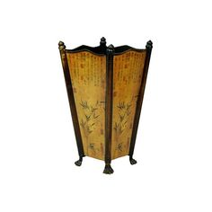 Oriental Furniture Bamboo Accent Umbrella Stand ($55) ❤ liked on Polyvore