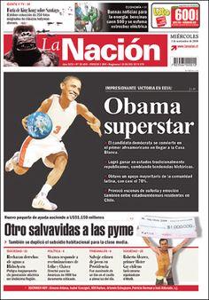 6 de junio de 2008, con el triunfo de Barack Obama, el primer afroamericano en llegar a Presidente de EEUU. La Nación