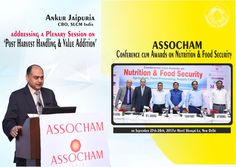 Our CBO addressing a session at ASSOCHAM Conference