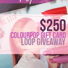 Super $250 ColourPop and Rilastil Instagram Giveaways!