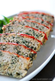 With just 10 minutes of prep time required, this turkey meatloaf florentine is an easy recipe to whip up for dinner.