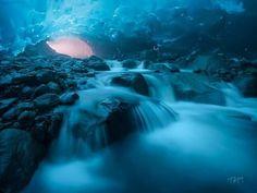 Cuevas en Alaska....