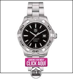 TAG Heuer WAP2010.BA0830 - Reloj para mujeres, correa de acero inoxidable color plateado  ✿ Relojes para mujer - (Lujo) ✿ ▬► Ver oferta: https://comprar.io/goto/B004Y9O80Q