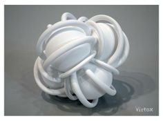 3d printed design Caught Up (L) by virtox on shapeways