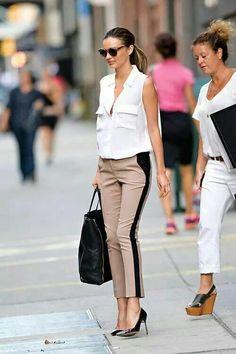 Always so stylish Miranda Kerr!