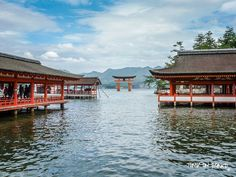Itsukushima shrine. Read more about it on jump-on-board.com