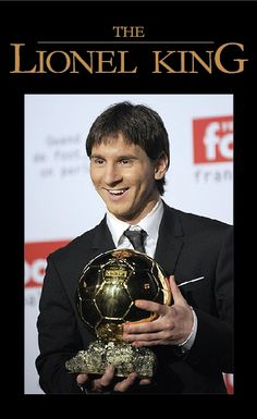 The best soccer player ever, Lionel Messi.