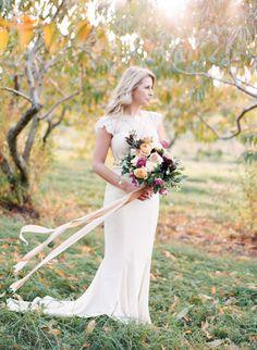 Fall Harvest Wedding Inspiration – Style Me Pretty