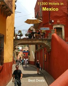 Jungles, deserts; teeming cities; fiesta fireworks, Frida's angst: Mexico conjures up so many vivid images. At the heart of your Mexican experience will be the Mexican people with their deep-rooted traditions, unique agave-based liquors and sensationally tasty, chili-laden food. Planning a visit? You will need #HotelBooking - Click to compare facilities and prices at 11390 Hotels/Guest Houses/B&B/Inns/Apartments/and more, and make your choice. You won't find better deals elsewhere…
