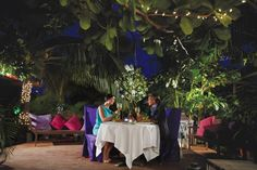 Top restaurants on Aruba. Screaming Eagle's dinner in bed option is Amazing