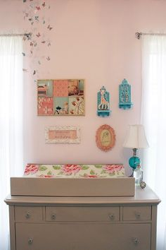 Shabby chic nursery