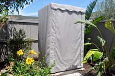 Outdoor Sauna Cover