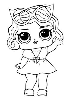 LOL Surprise Doll Leading Baby Coloring Pages. High quality free printable coloring, drawing, painting pages here for boys, girls, children . Crayola Coloring Pages, Shark Coloring Pages, Abstract Coloring Pages, Coloring Pages For Girls, Cool Coloring Pages, Cartoon Coloring Pages, Christmas Coloring Pages, Free Printable Coloring Pages, Mandala Coloring